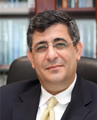 headshot of Ahmad Abdelrazaq